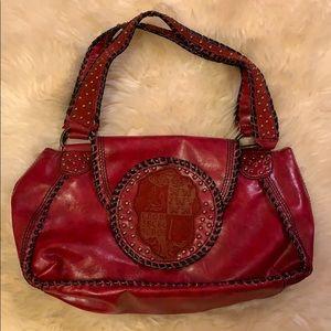 BCBGirls Red Western Inspired Purse